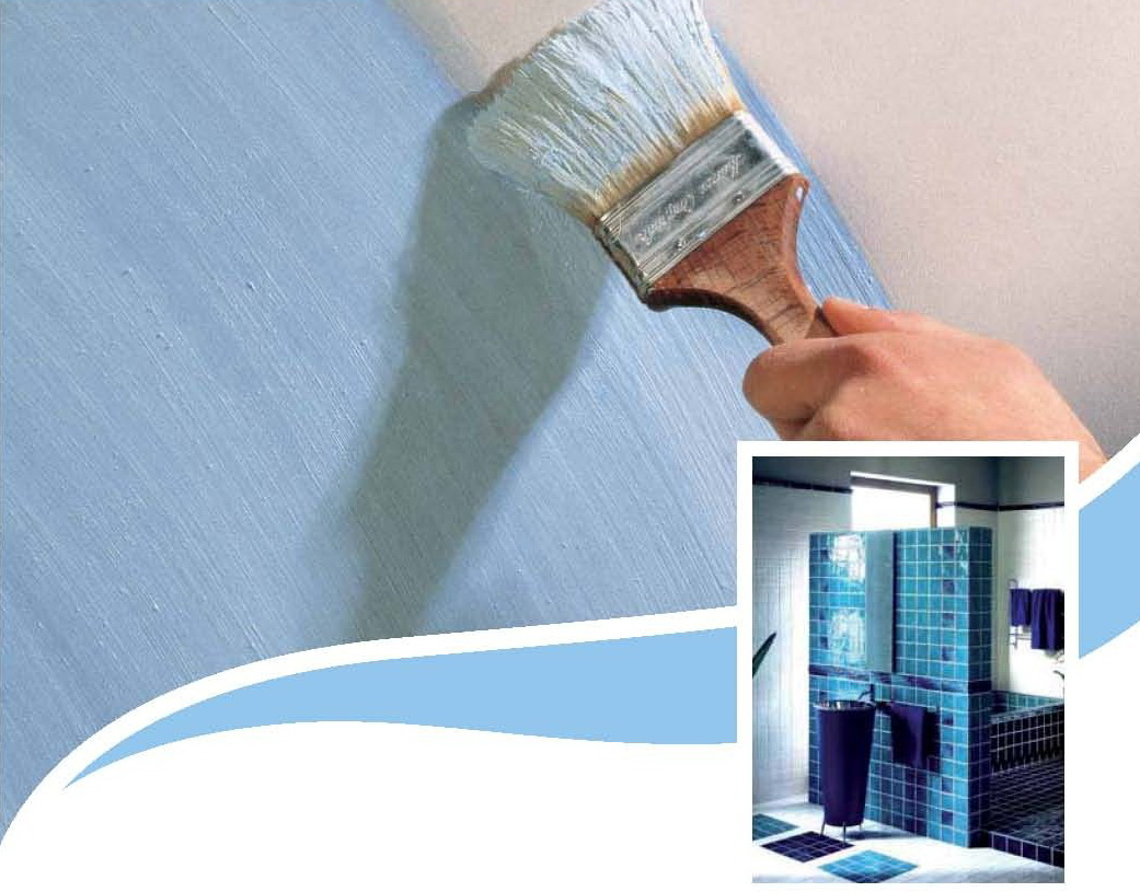 Waterproofing Paint Malaysia Choices To Suit Your Needs - Moisture resistant paint for bathrooms